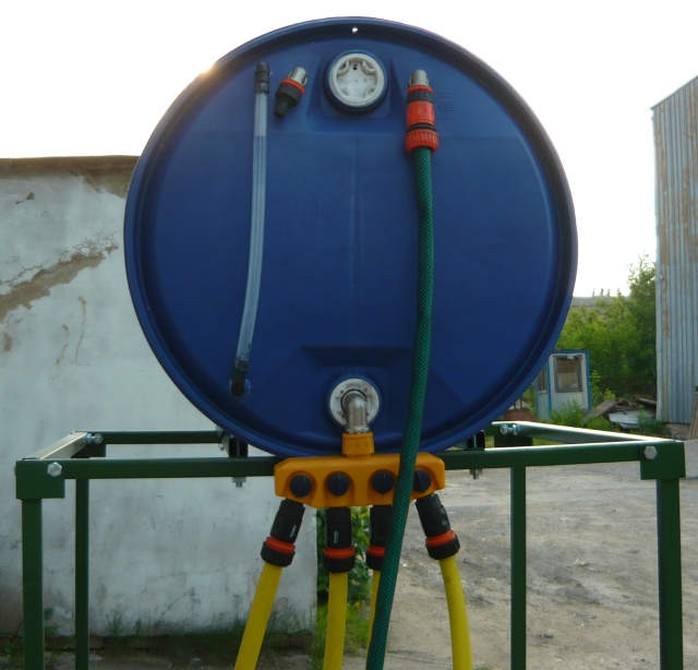 система капельного полива